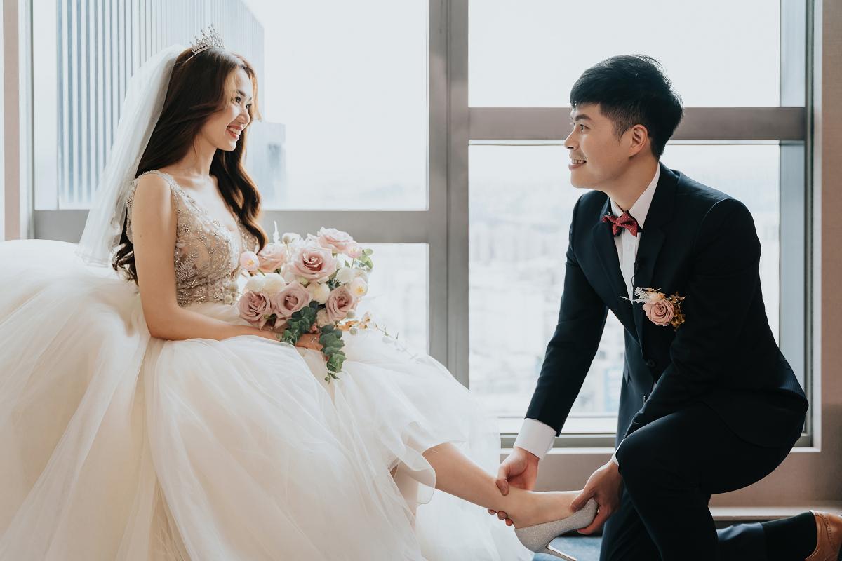 [婚攝]Jim & Amber 婚禮紀錄 @新板希爾頓酒店
